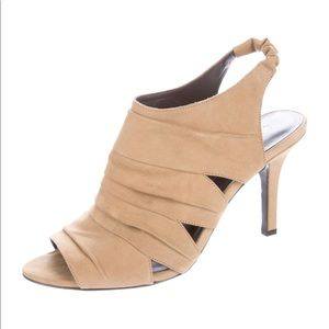 Elizabeth and James Suede Slingback Sandals 7.5